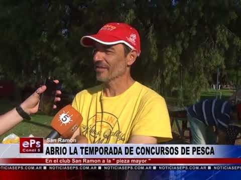 ABRIO LA TEMPORADA DE CONCURSOS DE PESCA
