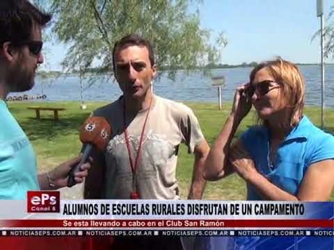 ALUMNOS DE ESCUELAS RURALES DISFRUTAN DE UN CAMPAMENTO