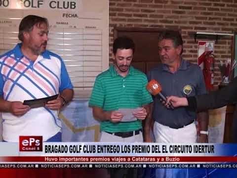 BRAGADO GOLF CLUB ENTREGO LOS PREMIO DEL EL CIRCUITO IDERTUR