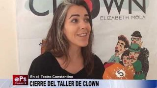 CIERRE DEL TALLER DE CLOWN