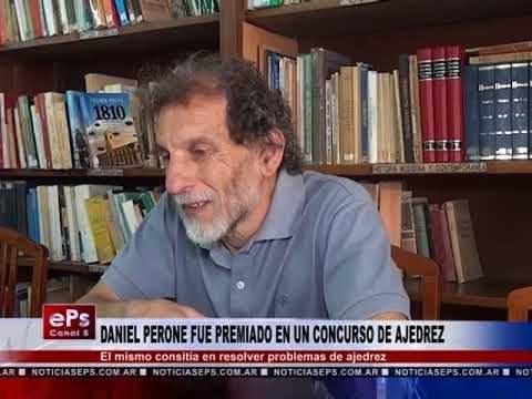 DANIEL PERONE FUE PREMIADO EN UN CONCURSO DE AJEDREZ