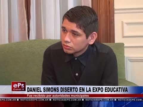 DANIEL SIMONS DISERTO EN LA EXPO EDUCATIVA