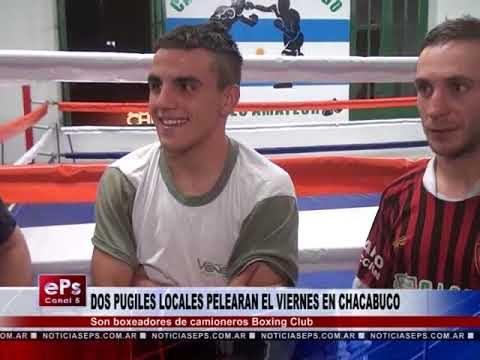 DOS PUGILES LOCALES PELEARAN EL VIERNES EN CHACABUCO