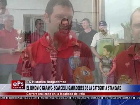 EL BINOMIO GARAYO SCARCELLI GANADORES DE LA CATEGOTIA STANDARD