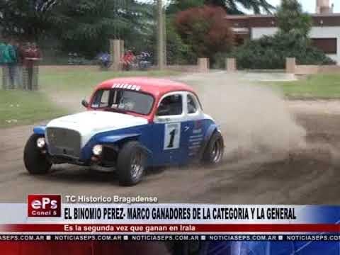 EL BINOMIO PEREZ MARCO GANADORES DE LA CATEGORIA Y LA GENERAL