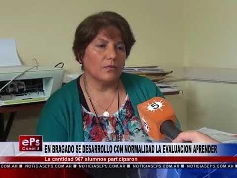 EN BRAGADO SE DESARROLLO CON NORMALIDAD LA EVALUACION APRENDER