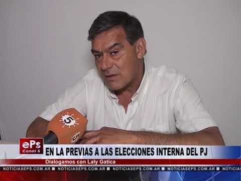 EN LA PREVIAS DE LAS ELECCIONES INTERNA DEL PJ