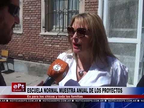 ESCUELA NORMAL MUESTRA ANUAL DE LOS PROYECTOS