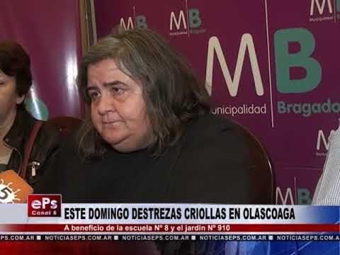 ESTE DOMINGO DESTREZAS CRIOLLAS EN OLASCOAGA