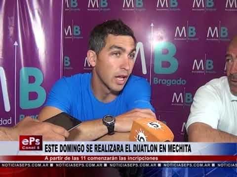ESTE DOMINGO SE REALIZARA EL DUATLON EN MECHITA