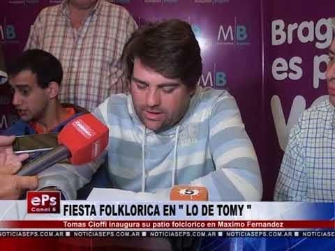 FIESTA FOLKLORICA EN LO DE TOMY