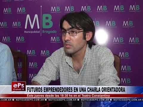 FUTUROS EMPRENDEDORES EN UNA CHARLA ORIENTADORA