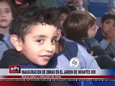 INAUGURACION DE OBRAS EN EL JARDIN DE INFANTES 909