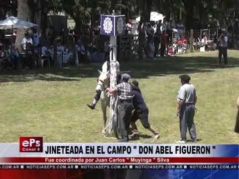 JINETEADA EN EL CAMPO DON ABEL FIGUERON