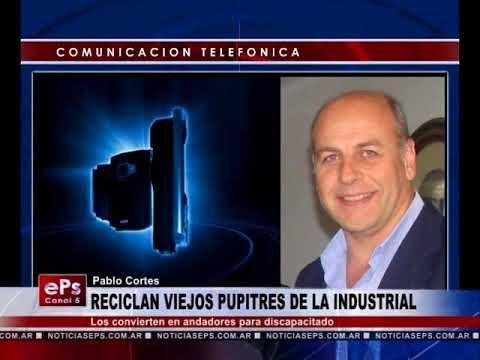 RECICLAN VIEJOS PUPITRES DE LA INDUSTRIAL