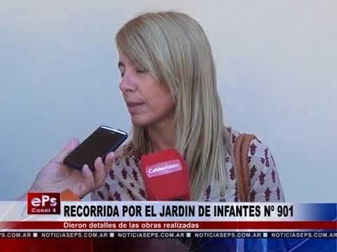 RECORRIDA POR EL JARDIN DE INFANTES Nº 901