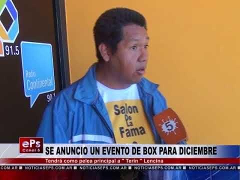SE ANUNCIO UN EVENTO DE BOX PARA DICIEMBRE