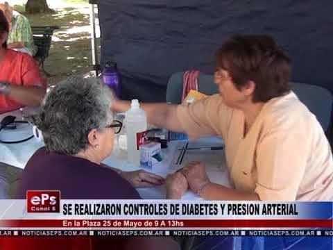 SE REALIZARON CONTROLES DE DIABETES Y PRESION ARTERIAL