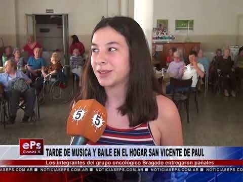 TARDE DE MUSICA Y BAILE EN EL HOGAR SAN VICENTE DE PAUL