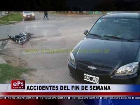 ACCIDENTES DEL FIN DE SEMANA