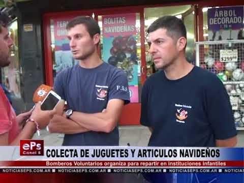 COLECTA DE JUGUETES Y ARTICULOS NAVIDEÑOS