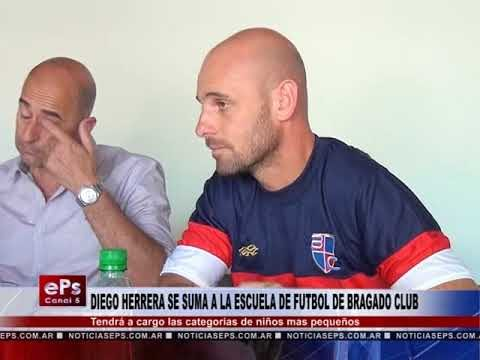 DIEGO HERRERA SE SUMA A LA ESCUELA DE FUTBOL DE BRAGADO CLUB