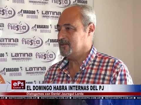 EL DOMINGO HABRA INTERNAS DEL PJ