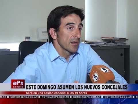 ESTE DOMINGO ASUMEN LOS NUEVOS CONCEJALES