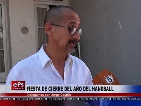 FIESTA DE CIERRE DEL AÑO DEL HANDBALL
