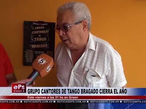 GRUPO CANTORES DE TANGO BRAGADO CIERRA EL AÑO