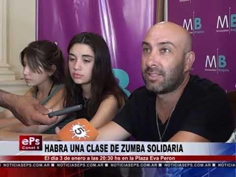 HABRA UNA CLASE DE ZUMBA SOLIDARIA