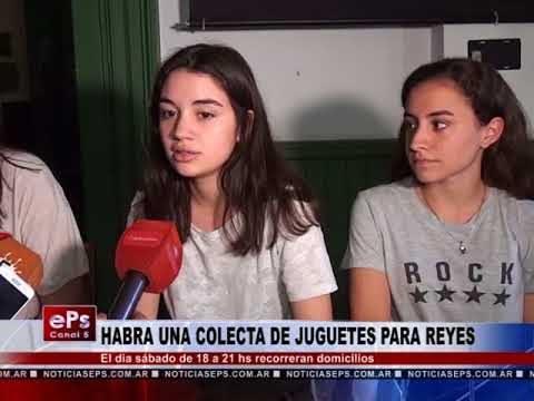 HABRA UNA COLECTA DE JUGUETES PARA REYES