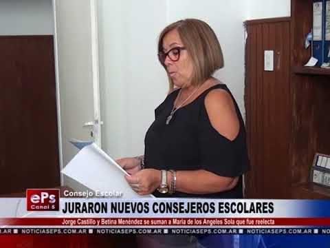 JURARON NUEVOS CONSEJEROS ESCOLARES
