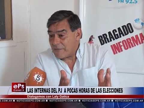LAS INTERNAS DEL PJ A POCAS HORAS DE LAS ELECCIONES