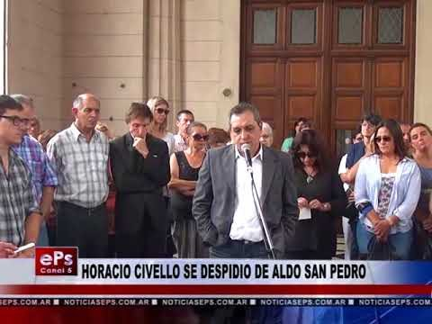 PALABRAS DE DESPEDIDA DE HORACIO CIVELLO