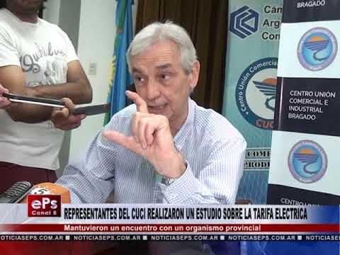 REPRESENTANTES DEL CUCI REALIZARON UN ESTUDIO SOBRE LA TARIFA ELECTRICA