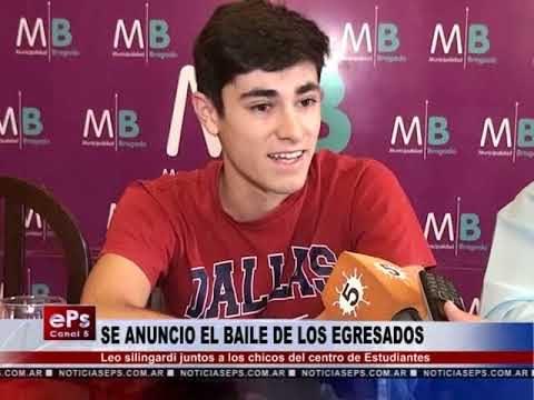 SE ANUNCIO EL BAILE DE LOS EGRESADOS