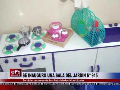 SE INAUGURO UNA SALA DEL JARDIN Nº 915