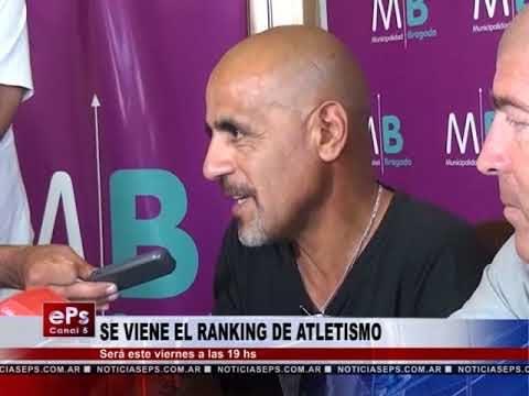 SE VIENE EL RANKING DE ATLETISMO