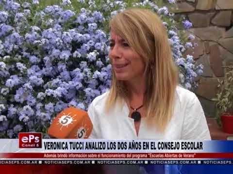 VERONICA TUCCI ANALIZO LOS DOS AÑOS EN EL CONSEJO ESCOLAR