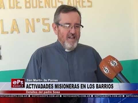 ACTIVADADES MISIONERAS EN LOS BARRIOS