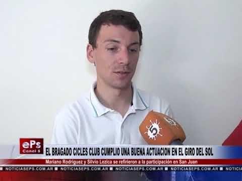 EL BRAGADO CICLES CLUB CUMPLIO UNA BUENA ACTUACION EN EL GIRO DEL SOL
