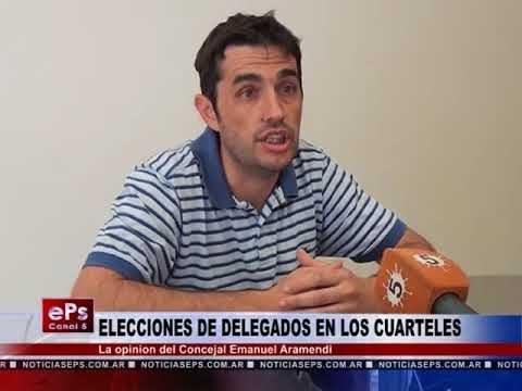 ELECCIONES DE DELEGADOS EN LOS CUARTELES