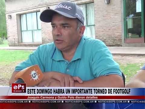 ESTE DOMINGO HABRA UN IMPORTANTE TORNEO DE FOOTGOLF