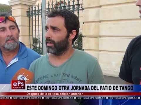 ESTE DOMINGO OTRA JORNADA DEL PATIO DE TANGO