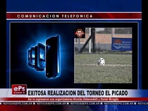 EXITOSA REALIZACION DEL TORNEO EL PICADO