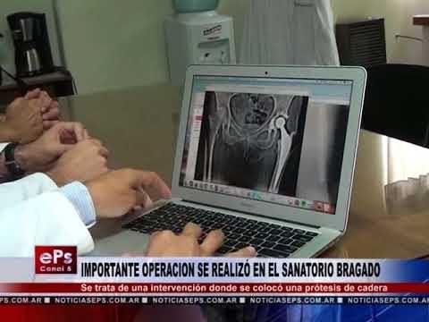 IMPORTANTE OPERACION SE REALIZÓ EN EL SANATORIO BRAGADO