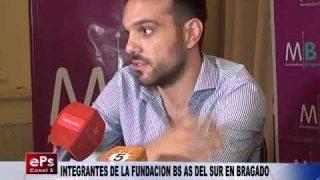 INTEGRANTES DE LA FUNDACION BS AS DEL SUR EN BRAGADO