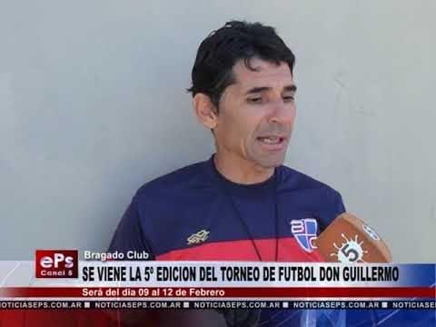 SE VIENE EL TORNEO DE FUTBOL DON GUILLERMO