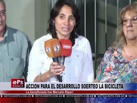 ACCION PARA EL DESARROLLO SOERTEO LA BICICLETA